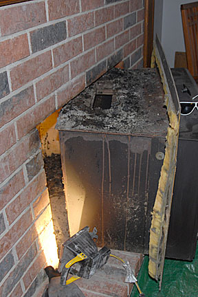 Bottom-up chimney cleaning Hearthcom Forums Home